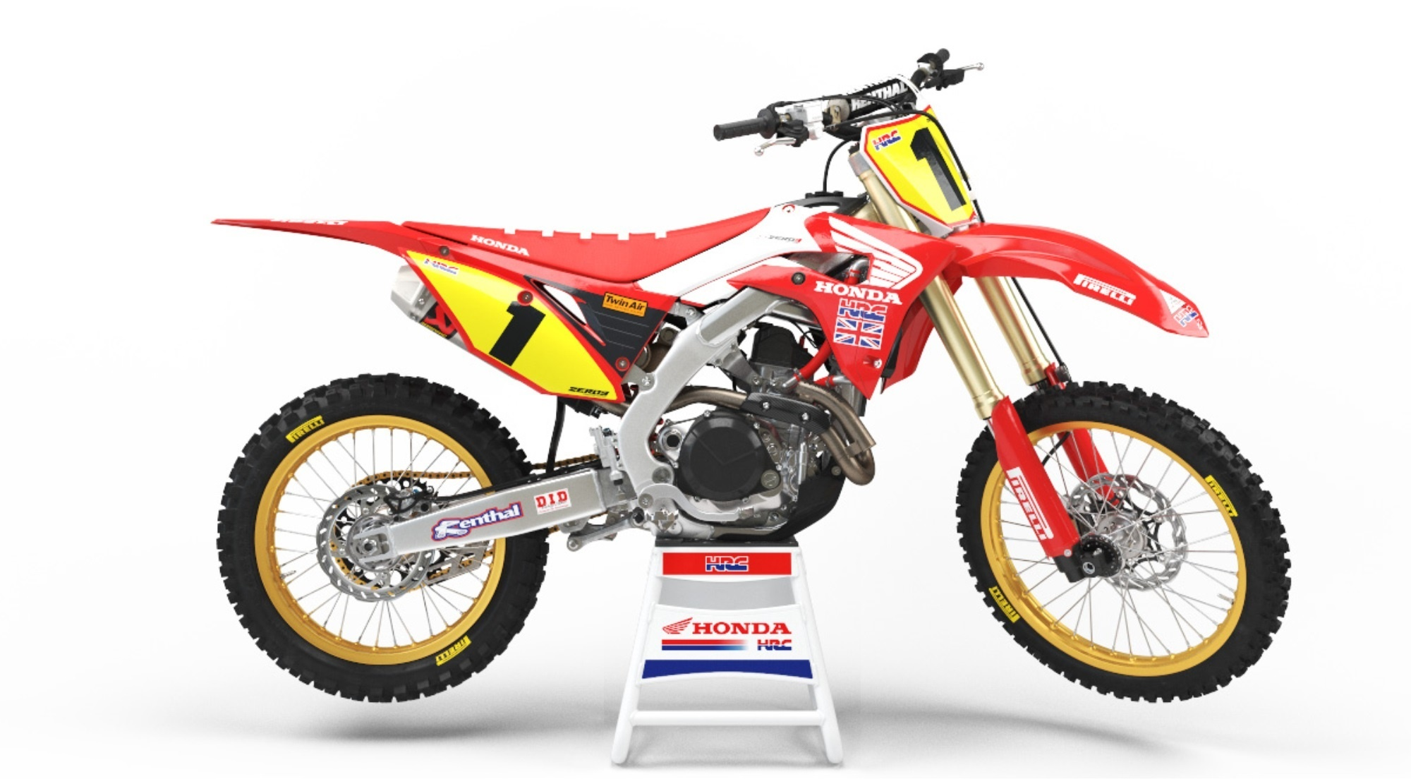 Honda Off Road CRF450R Dave Thorpe Special Edition