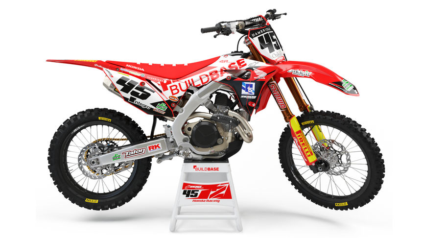 Honda Off Road CRF450R Buildbase