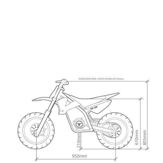 Torrot Kids S12 48V Electric Kids Supermoto Mini Bike
