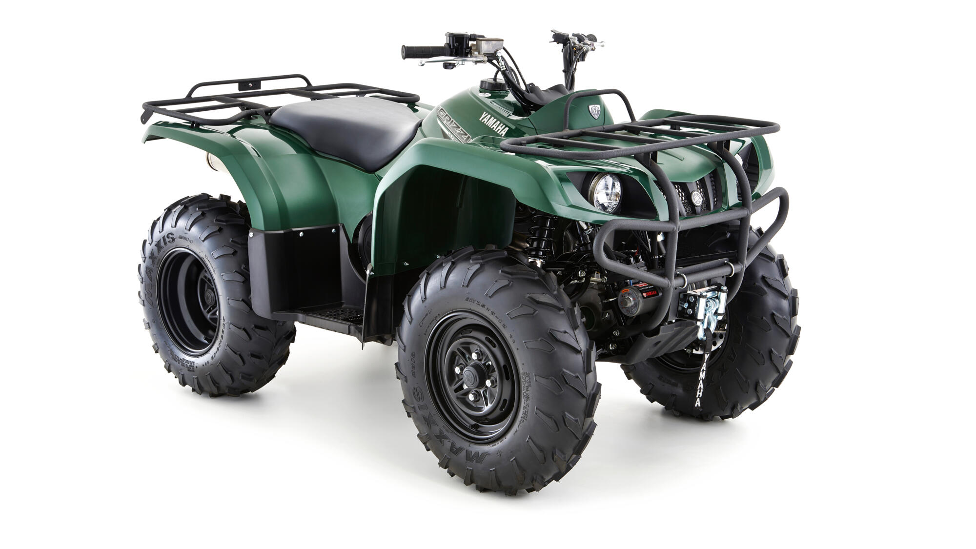 Yamaha Utility Grizzly 350 4WD Green