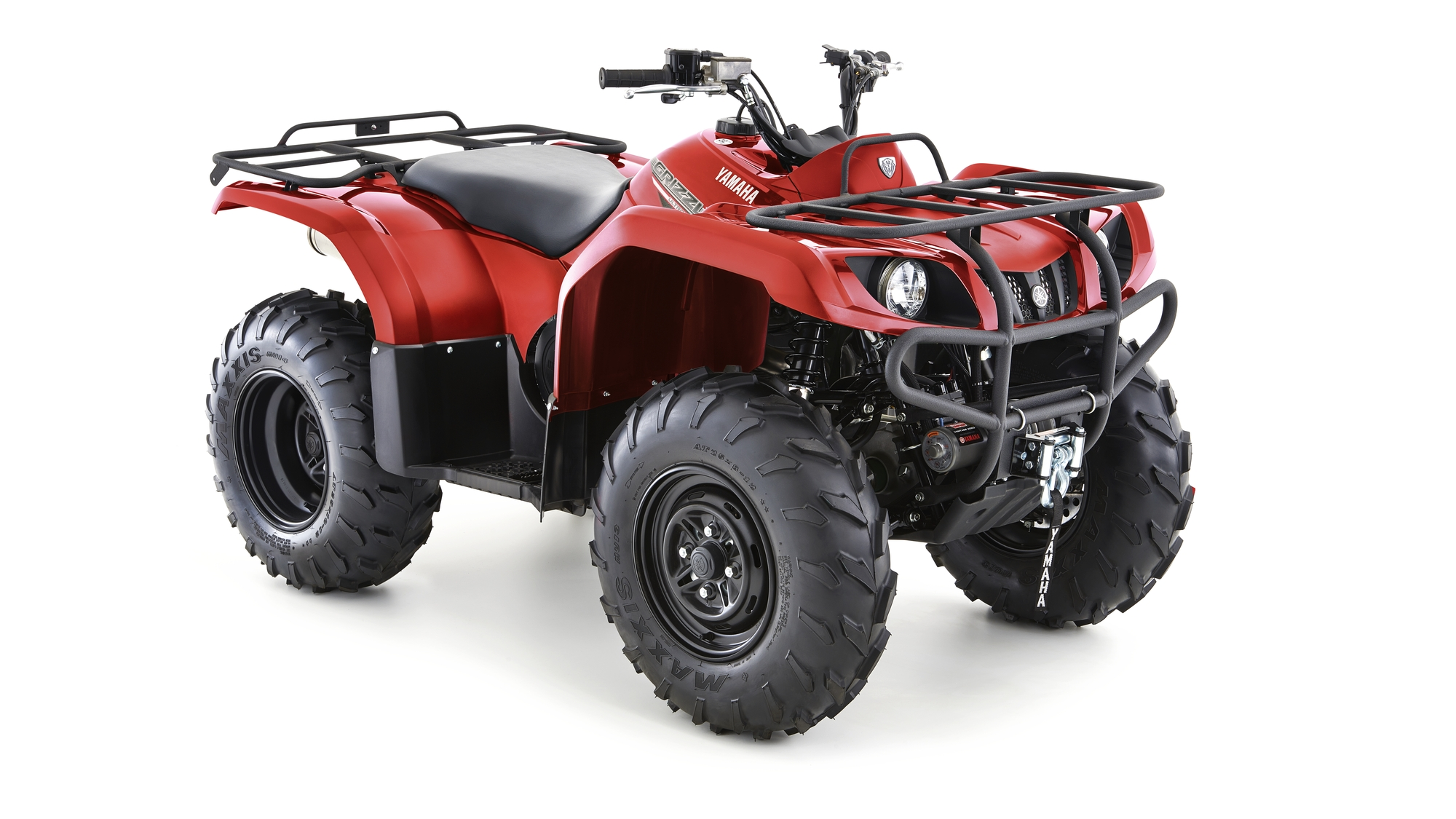 Yamaha Utility Grizzly 350 4WD Red