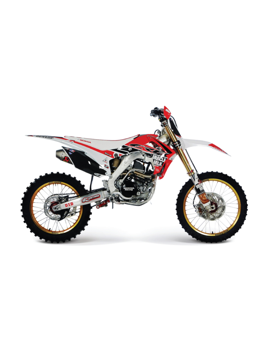 CRF250R Muscle Milk