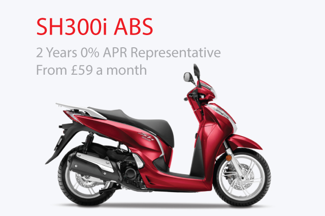 Scooters - SH300i